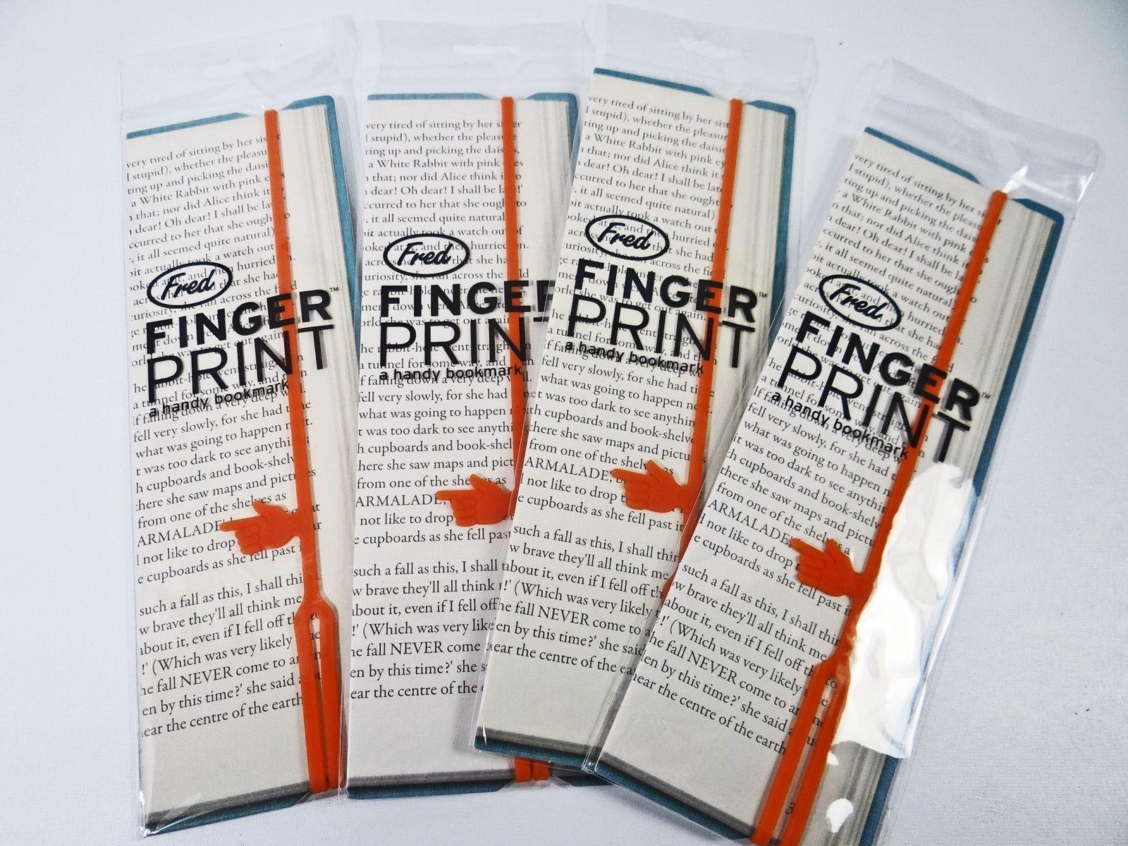 fred-friends-fingerprint-bookmark-page-marker-word-pointer-orange-silicone-9